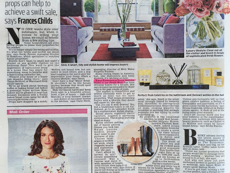 Home Restyler name in lights…well in the Daily Mail!