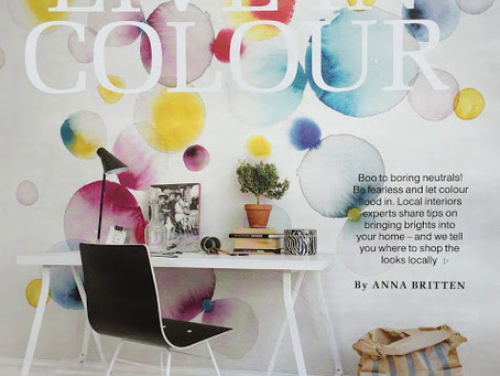 Exeter Living magazine Spring Interiors feature