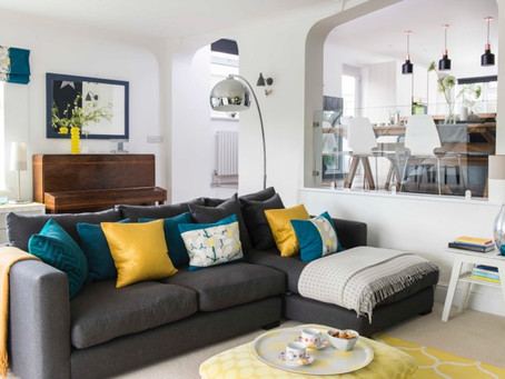 My home, my style, my love of colour!