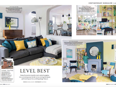 Our home in 25 Beautiful Homes magazine, May 2017