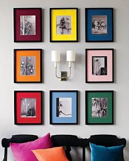 Inspiring ways to display your art & photographs