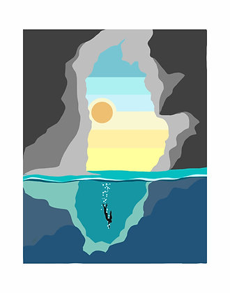 Lava Cave Dive