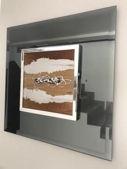 Mirror Art Infinity Bronze/Grey