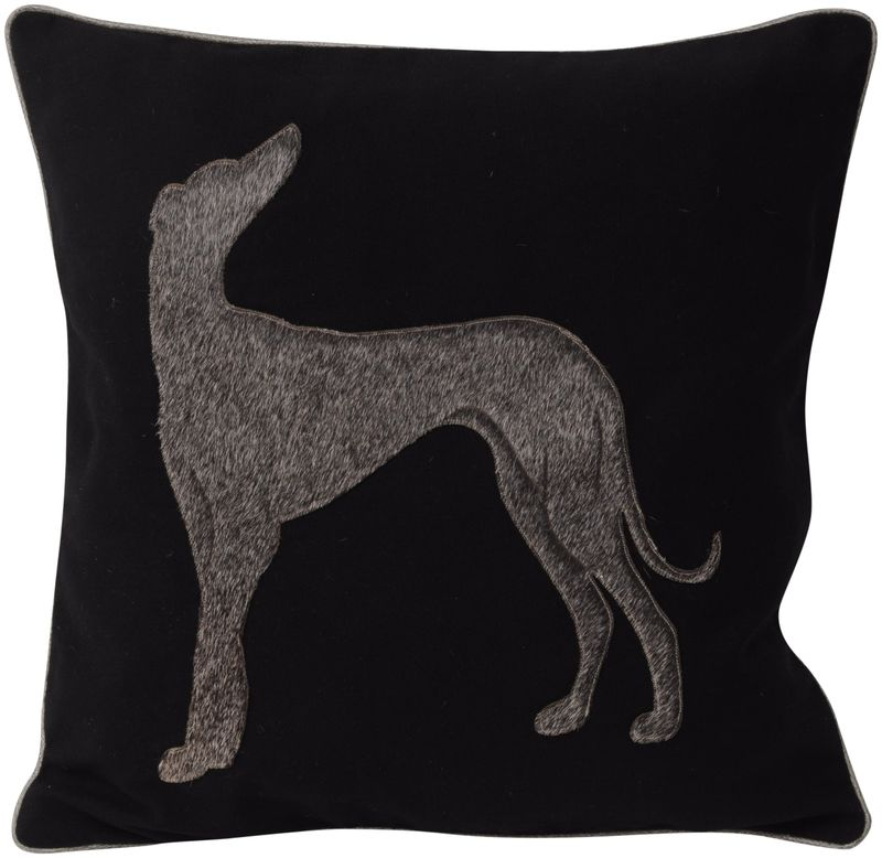 LEATHER LASER BACKWARD LOOKING DOG