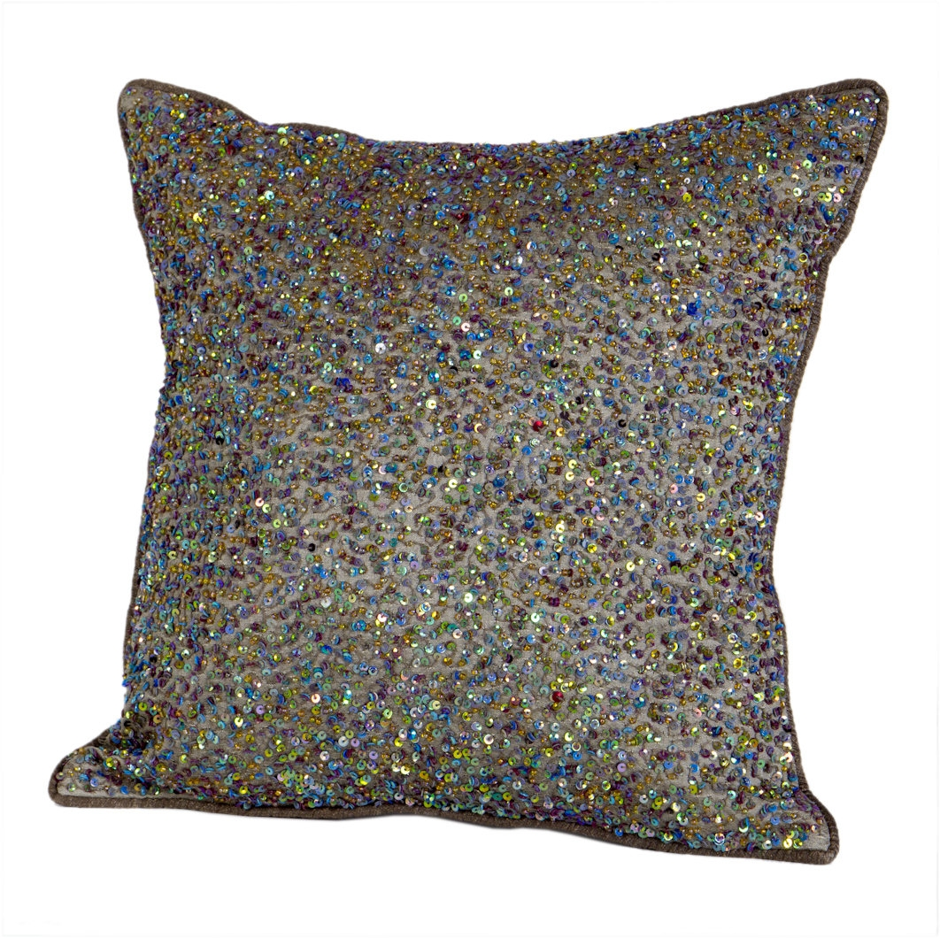 WHEAT POLYDUPION CUSHION