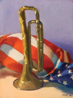 Bugle and Flag v.1