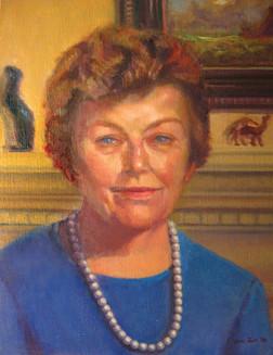 Madaleen Ellis v.1 (posthumous portrait at the Newtown Public Library)