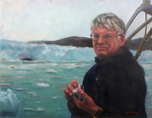 Edgar Hammershaimb (posthumous portrait in Denmark)