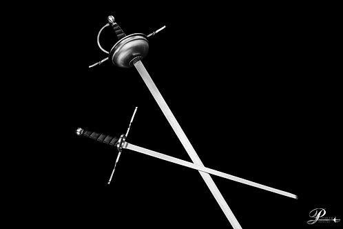 Spanish Rapier& Simple Parring Dagger