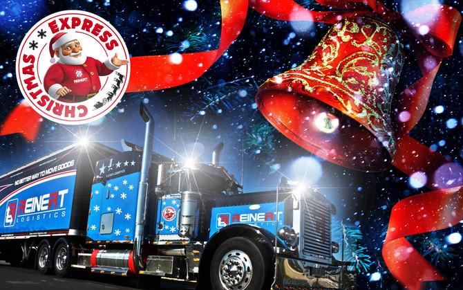 REINERT CHRISTMAS-EXPRESS auf großer Weihnachtstour