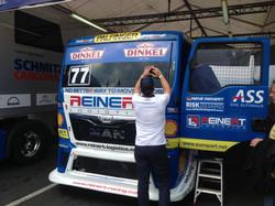 Beschriftung Race Truck