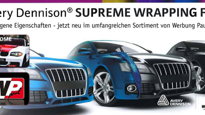 Neue Car-Wrapping Folie von AVERY im Programm