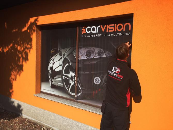 Scheibengestaltung mit der neuen WindowVision...