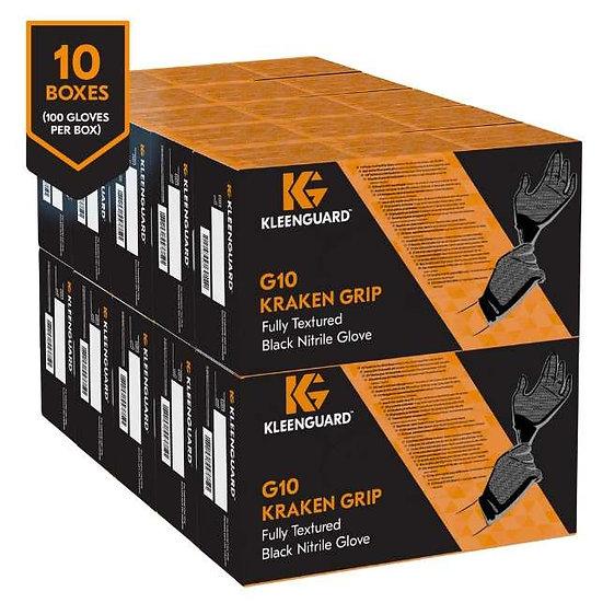 Kleenguard (Kimberly-Clark) Nitrile Gloves-G10 Kraken Grip(Pack of 10 Box)