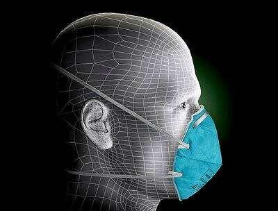 3M N95 1860 Respirators(Pack of 20Pcs)