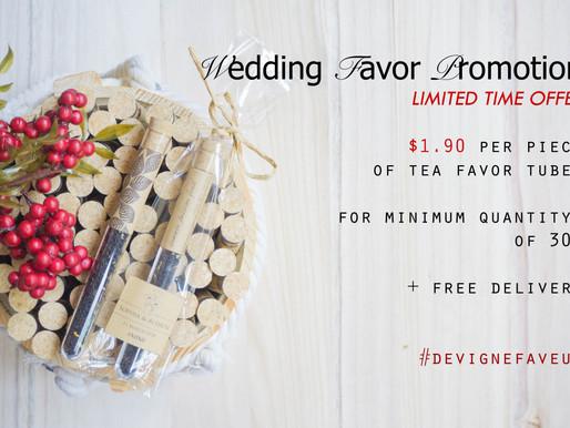 Wedding Favor Promotion