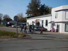 Biking in Belle