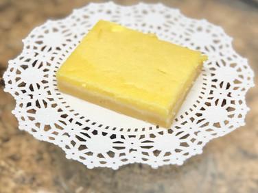 Keto Lemon Bar