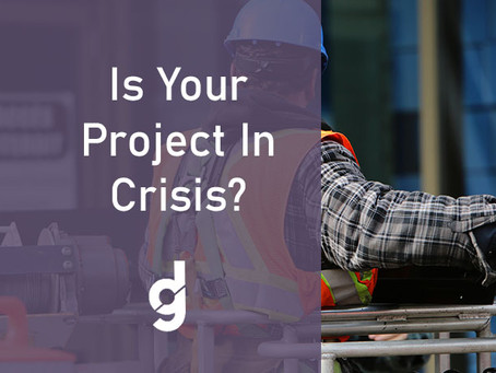 Is Your Project In Crisis?