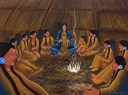 First Pipe Ceremony