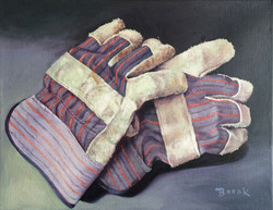 HOME PAGE_Work Gloves_11 x 14_acrylic