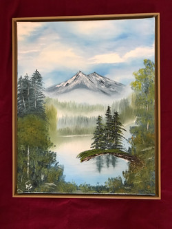 Refections oil 16x20