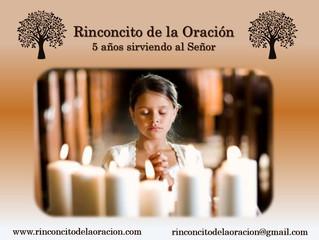 5 Años sirviendo al Señor - 5 Years serving the Lord