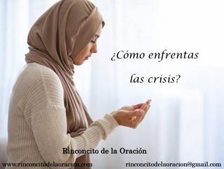 ¿Cómo enfrentas las crisis?