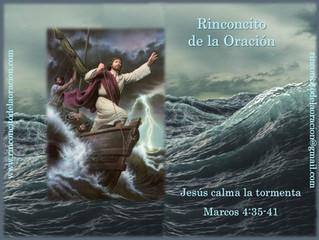 Jesús en medio de la Tormenta