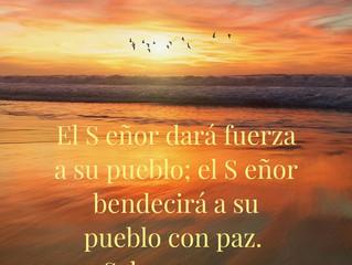 Dios es quien nos fortalece en medio de las tribulaciones - God is the one who strengthens us in the