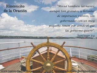 Sea el Señor el que gobierne el timón de nuestro barco