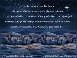 Recuerda el verdadero sentido de la Navidad!!
