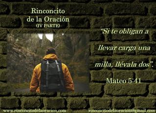 Camina una milla extra (IV Parte) - Walk an extra mile(Part IV)