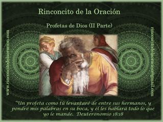 Profetas de Dios (II Parte)