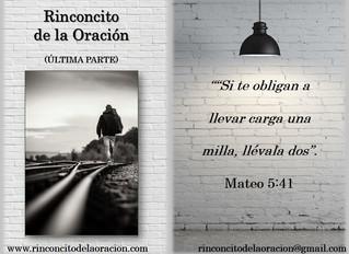 Camina una milla extra - (V Última Parte) - Walk an extra mile - (V Last Part)
