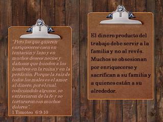 Orientación Familiar  |                                        Dios y la Familia | Principios de May