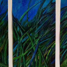 Grünes Triptychon