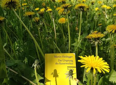 """Martin Heidegger: """"Der Ursprung des Kunstwerkes"""""""
