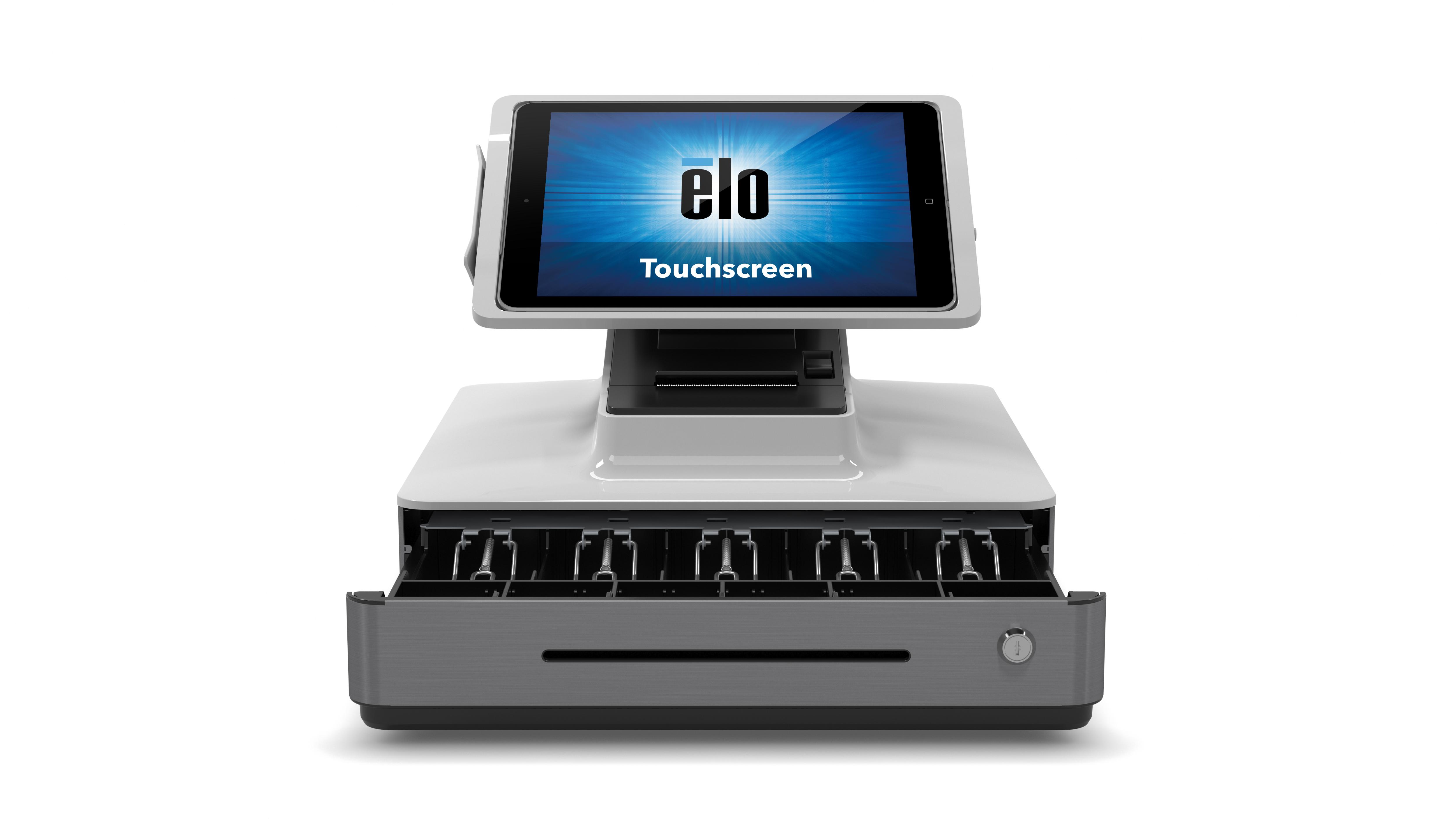 PP2_iPad_White_Front_CashDrawerOpen_Touchscreen
