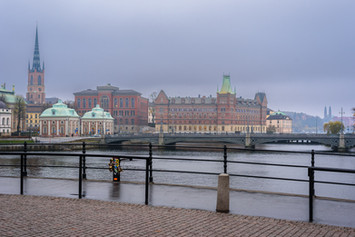 Autumn view of Riddarholmen