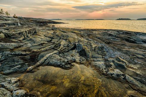 Klippor på Kallhamn