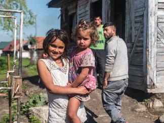 Romani village in Gheorgheni