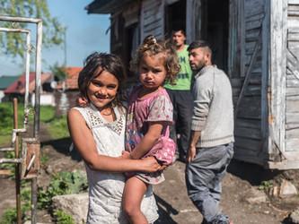 Romsk by i Gheorgheni
