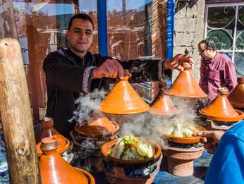 Tagine i Marocko