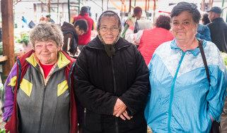 Market women in Transylvania