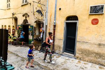 Napoleons födelsehus i Ajaccio