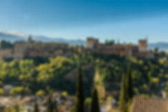 Alhambra med Sierra Nevada