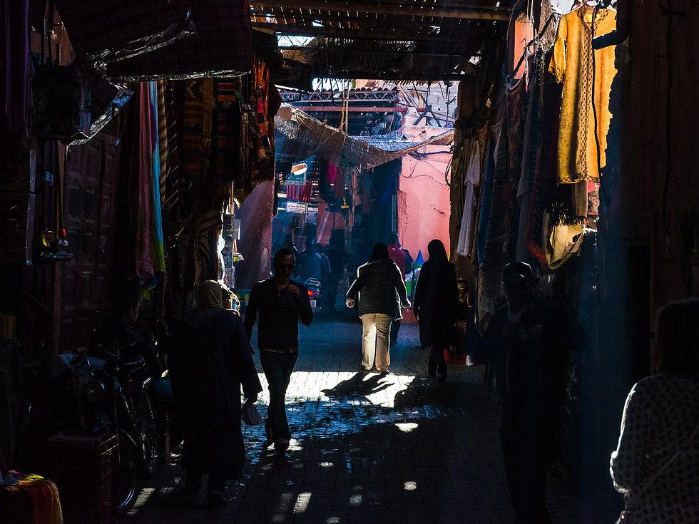 Medinan i Marrakech