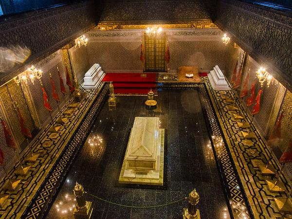 Mohammed V:s mausoleum