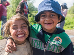 Children in romani willage